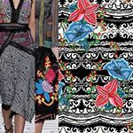 patternbankdesigner  patternbankcomvictoriakrupp  Nicole Miller collection is so inspiring My pattern has a similar vibe and simplicity of ethnic tribal beauty patternbank surfacedesign patterndesign fashionprint IG victoriakrupppatterns