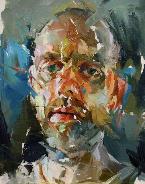 Paul Wright, self-portrait