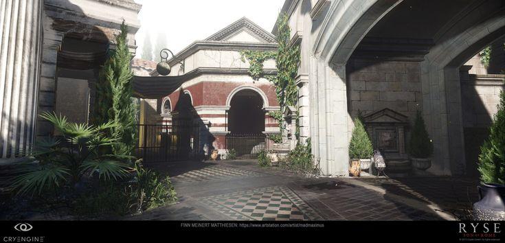 ArtStation - Ryse - Son of Rome :: Forum Level :: Schola Building :: CryEngine, Finn Meinert Matthiesen