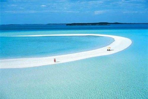 Sandbar, The Bahamas  photo via weheartit