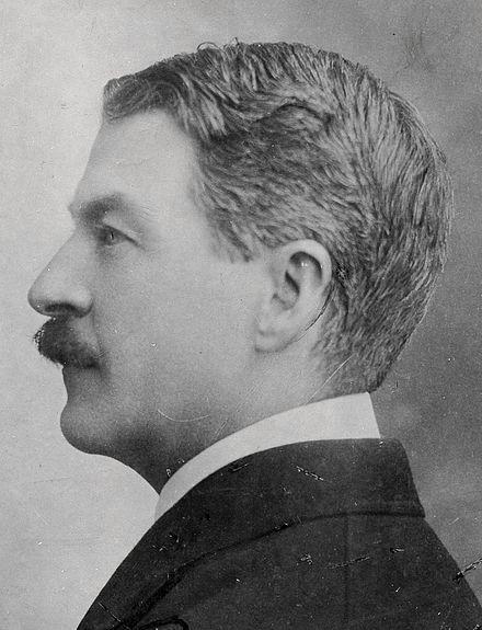 George Wharton creator of Ex Libris, 1920c.