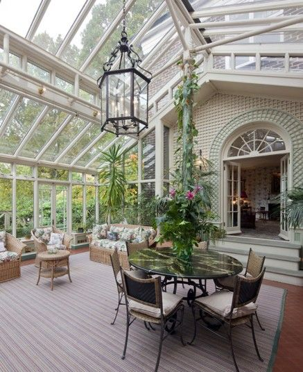 Highgate, London  A six-bedroom home in leafy Highgate is home to this lovely period conservatory. The house also has a large library with capacity for over 3,000 books, so you'll never lack a paperback to read in the sun. £6.25m