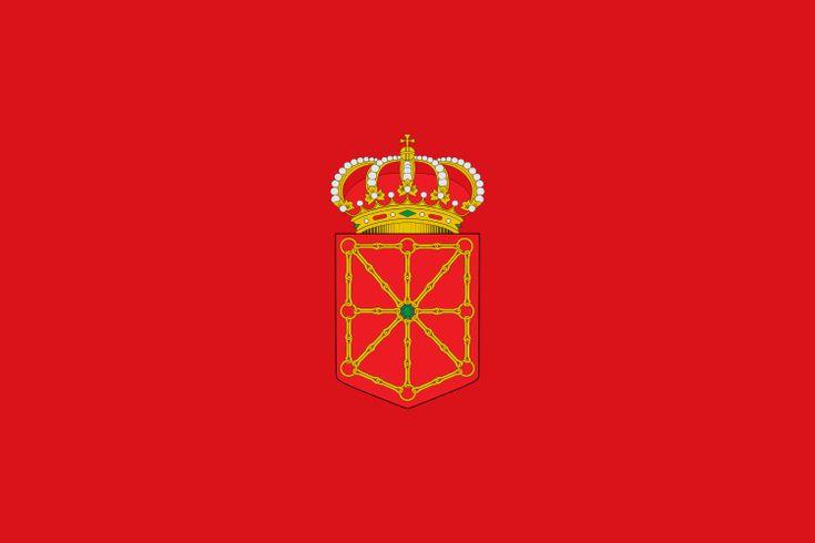 Bandera de la Comunidad Foral de Navarra.