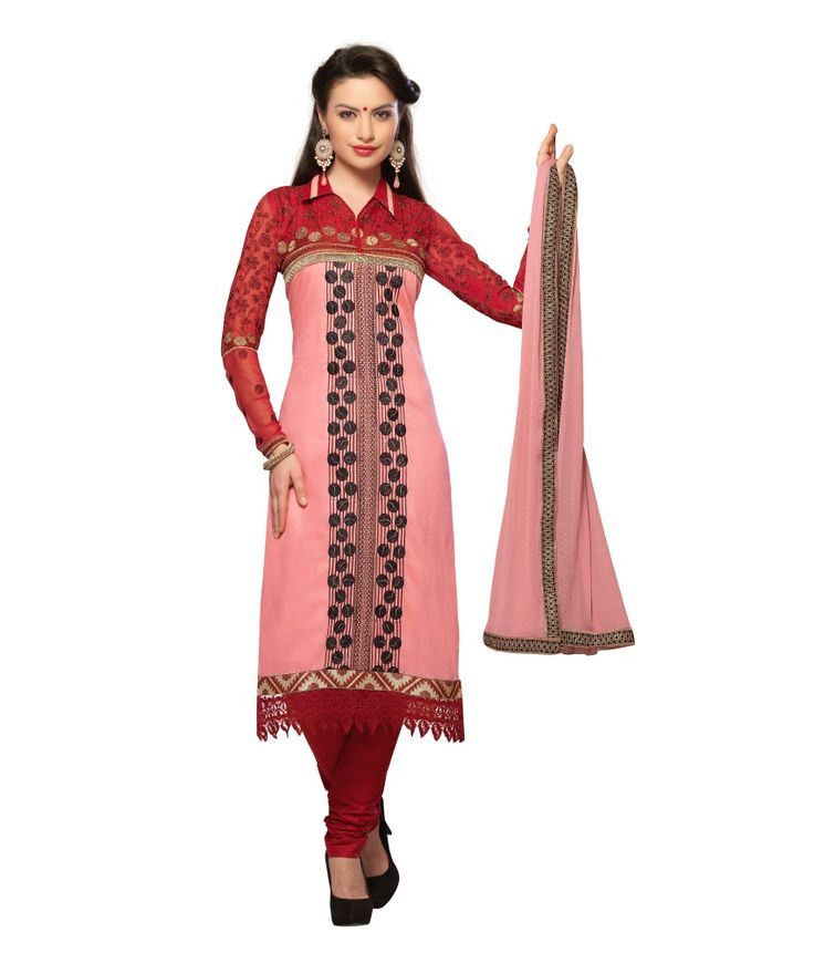 Loved it: Monalisa Fabrics Pink Cotton Unstitched Dress Material, http://www.snapdeal.com/product/monalisa-fabrics-pink-cotton-embroidered/643166516162