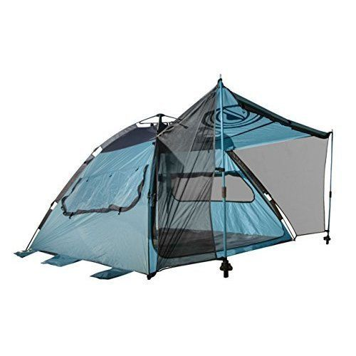 Outdoor Camping Hiking Beach Tent Family Shelter 4 Persons Waterproof w/ Canopy  #WildHornOutfitters