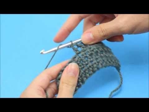 Double crochet, pilar, vareta / video tutorial / Hopeful Honey   Craft, Crochet, Create: How To: Crochet - For Beginners