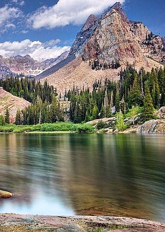 Lake Blanche, Southern Australia Nature  beauty  mountains lake