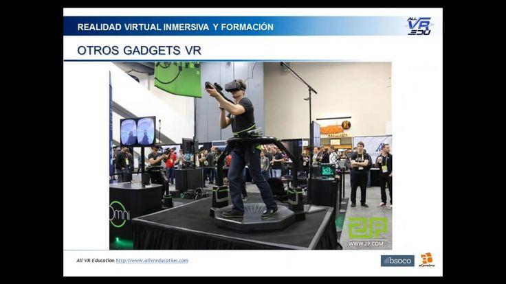 2016 06 16 16 05 Realidad Virtual VR Inmersiva en los procesos de formac...