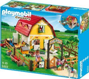 Playmobil 5222 Children's Pony Farm: Amazon.co.uk: Toys & Games