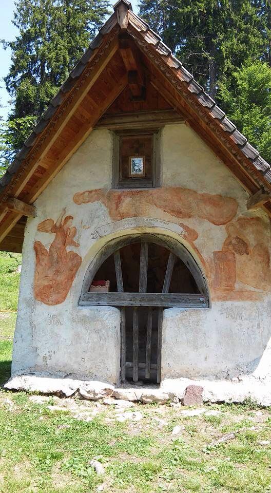 Capitello all'Eremo dei Romiti, Domegge di Cadore Belluno Dolomiti Veneto Italia