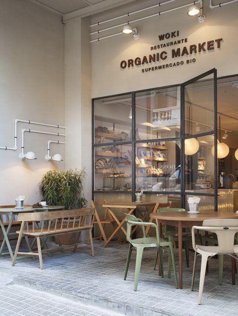 WOKI ORGANIC MARKET / Restaurante CÉLERI, Barcelona, 2015 - Tarruella Trenchs Studio