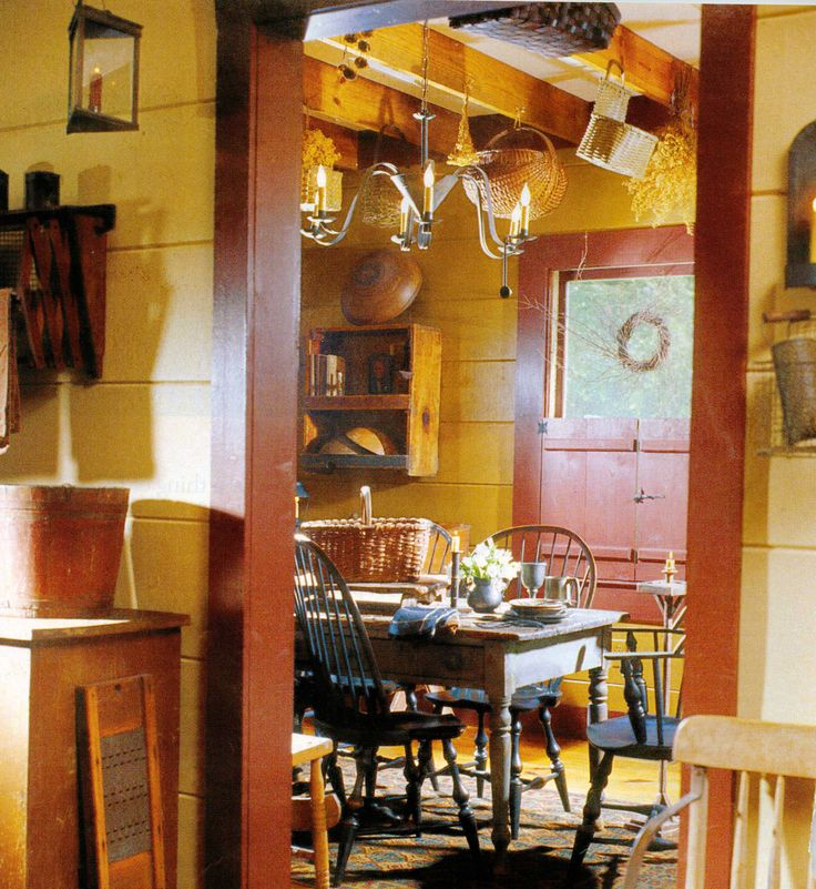 Colonial Dining Room: 17 Best Images About Dream Cottage