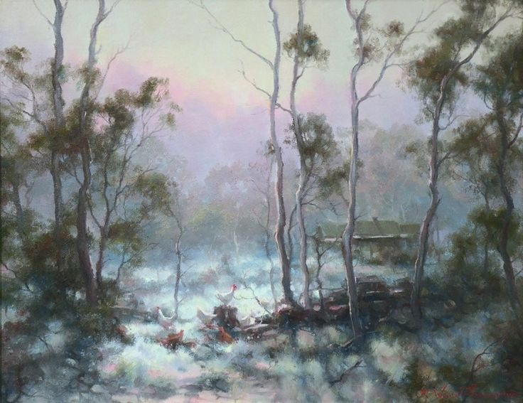 'Morning Call, Bucketty, NSW.'