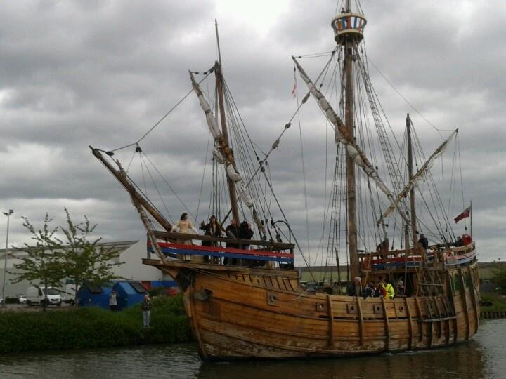 Jack Sparrow at Gloucester Docks tall ships festival