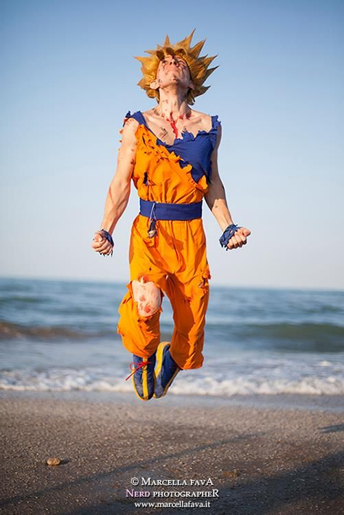 #Cosplay Dragon Ball Z: #Goku by Alexcloudsquall on deviantART