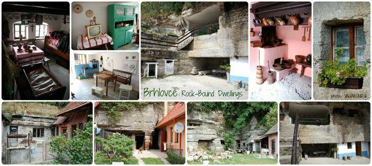 Brhlovce - rock-bound dwellings