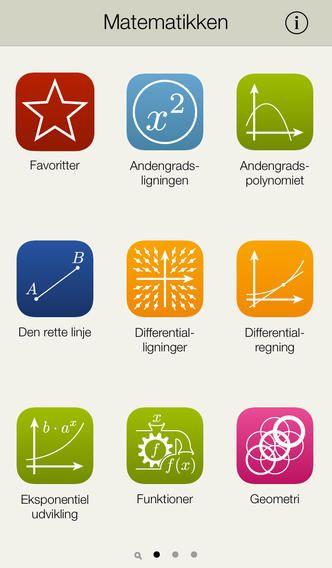 Matematikken er lavet af 3 gymnasie elever som et opslagsværk til matematik på A, B og C niveau. Appen koster 7 kr.
