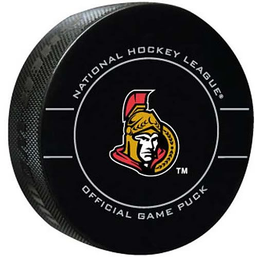 Ottawa Senators Team Puck