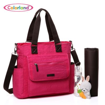Waterproof Mother Mummy Bag Nappy Changing Multifunctional Infant Bags Baby Shoulder Diaper Bag Backpack Stroller Travel Handbag. Yesterday's price: US $100.77 (82.33 EUR). Today's price: US $30.23 (24.56 EUR). Discount: 70%.