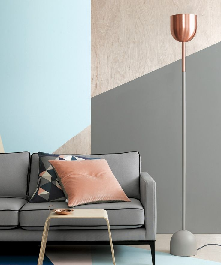 Kooper Floor Lamp in Copper/Sable