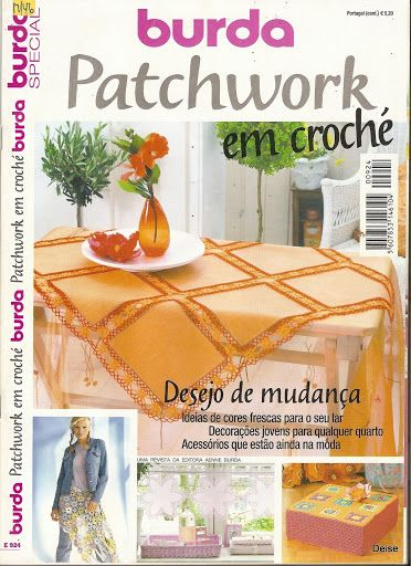 Revista Burda Especial Patchwork em Croché - Diz Mary Mary - Picasa Web ..Albums...MAGAZINE AND DIAGRAMS!