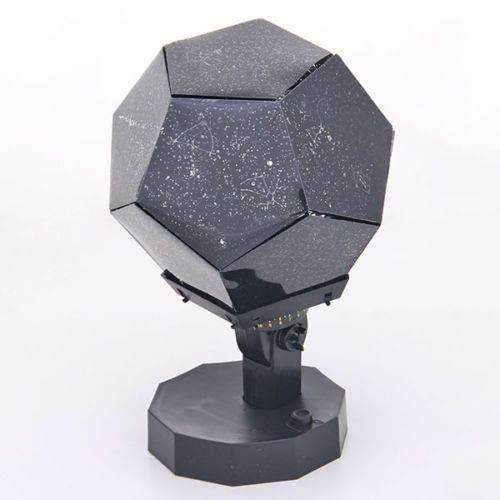 1 x Celestial Star Projector Lamp Night Light. Ideal for decorating wedding, birthday, parties, opening ceremony, commercial promotions activities. Great for romantic night lamp and decoration light use!