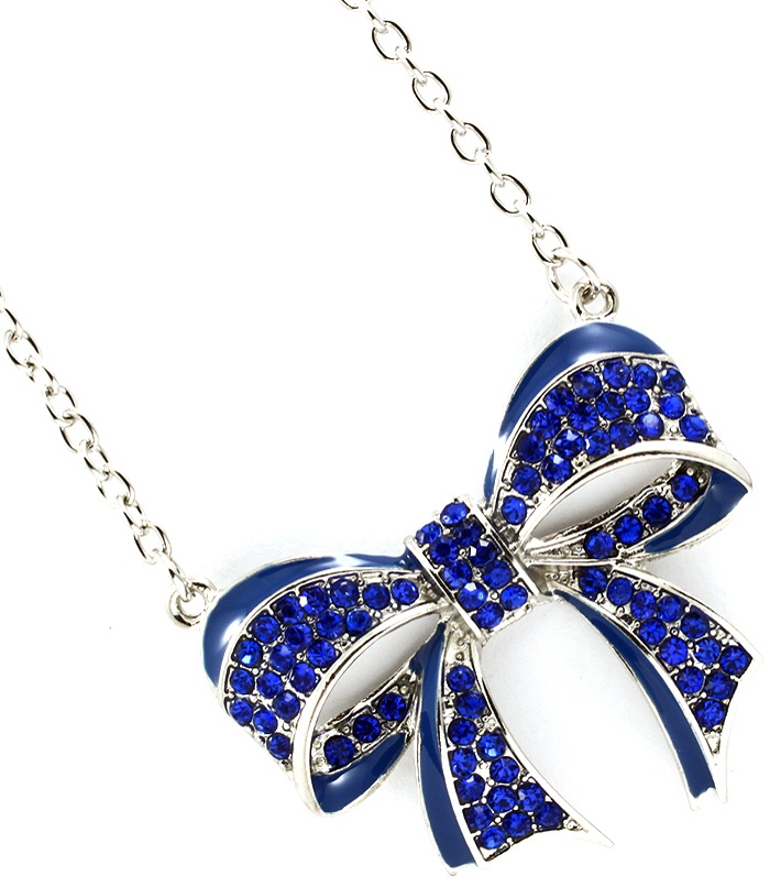 southern living southern belle ribbon necklace cute bows jewelry