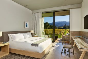 Discover one of the historic and unforgettable Napa Valley Resorts when you stay at Las Alcobas, a Luxury Collection Hotel, Napa Valley, a newly opened resort near Beringer Winery.