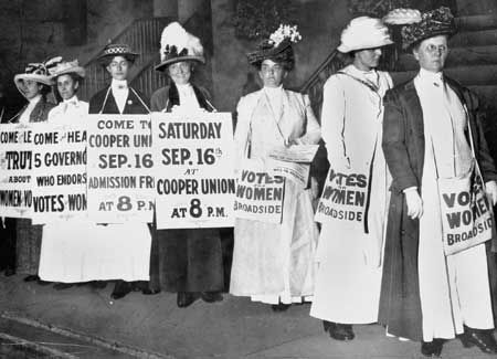 Suffragettes - any of them.