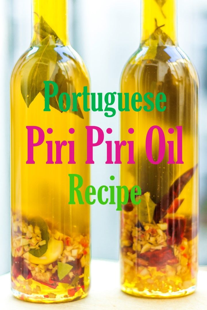 Portuguese Piri Piri Oil Recipe - Nelsoncarvalheiro.com An important oil for all types of cooking and flavoring. You might also like my Galician oil post: https://richardfrisbie.wordpress.com/2015/05/06/garlic-oil-and-other-garlic-tips/ for a paprika & garlic oil that is great on seafood & potatoes.
