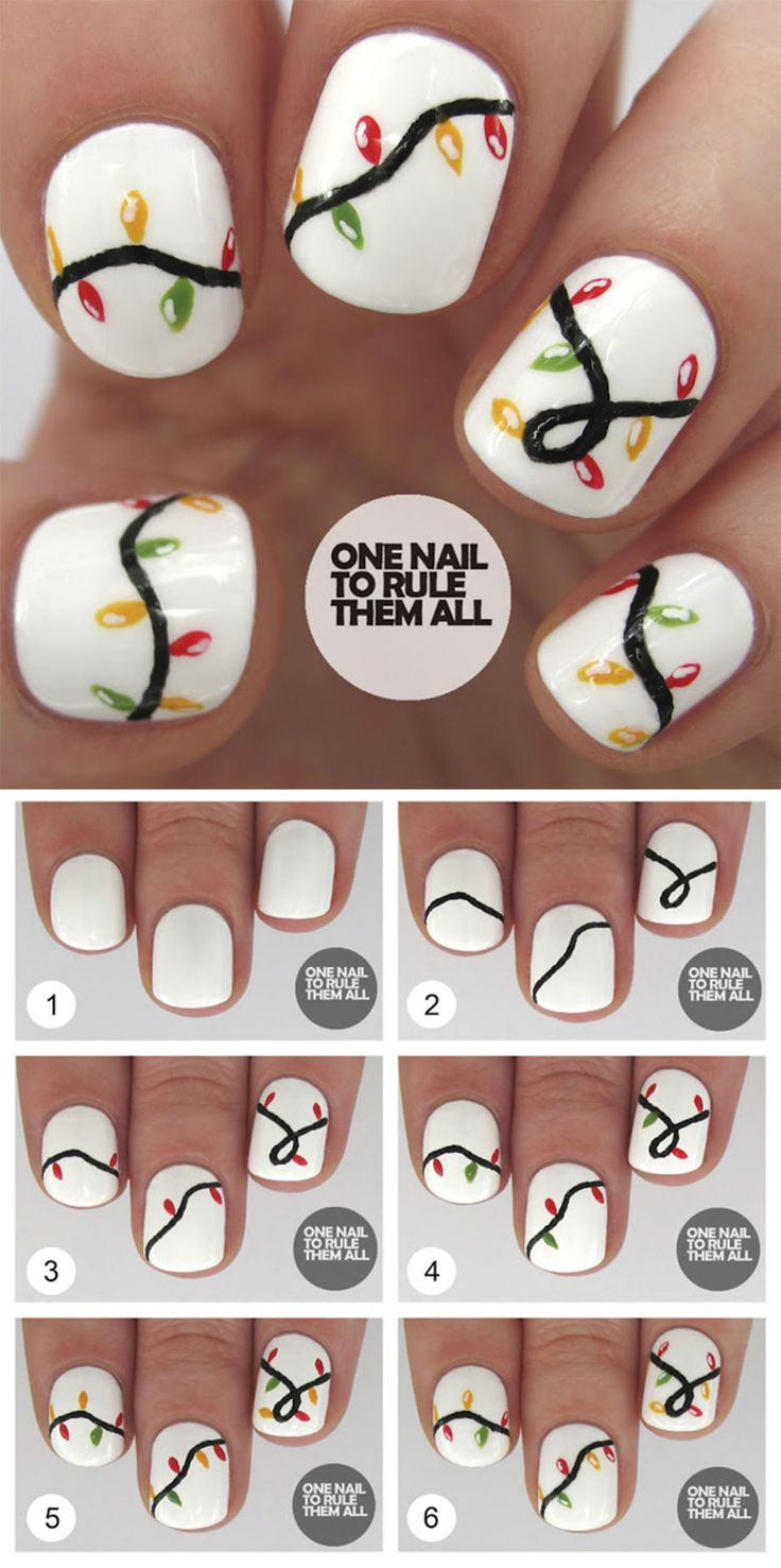13 Christmas nail art tutorials you NEED in your festive life …