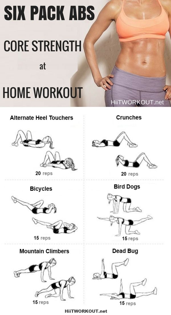 Get Six-Pack Abs in 6 Simple Moves
