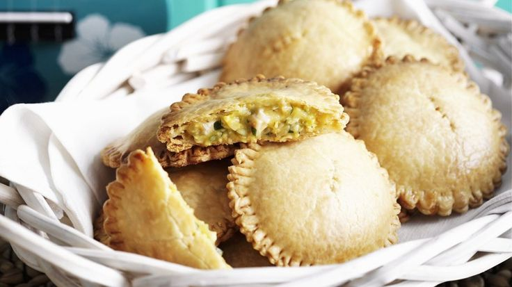 Rezept: Teigtaschen mit Hähnchen-Mais-Füllung