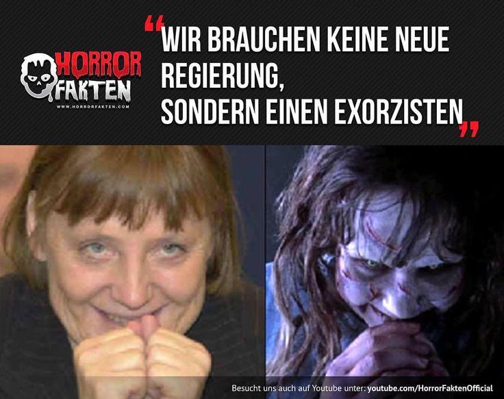 Der Exorzismus von Angela Merkel #horrorfakten
