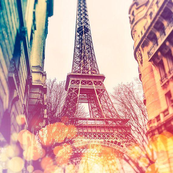Eiffelturm-Fotografie Paris drucken Poster Paris Paris von HQPhotos