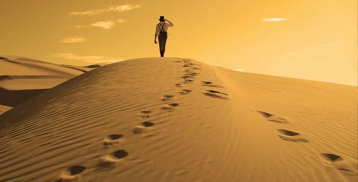 Quando c'è una meta, anche il deserto diventa strada.    Proverbio Tibetano