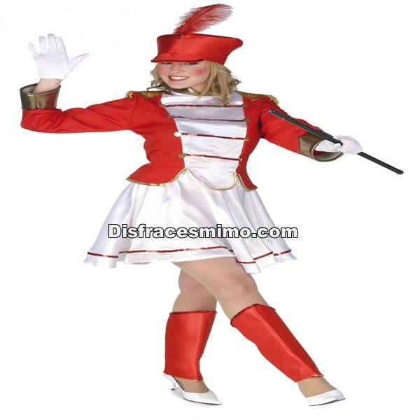 DisfracesMimo, disfraz majorette regional mujer adulto pr91581.Con este bonito disfraz majorette mujer te transformarás en esas chicas bailarinas que desfilan seguidas de un orquesta.Este disfraz es ideal para tus fiestas temáticas de disfraces del mundo,paises y regionales para mujer adultos.
