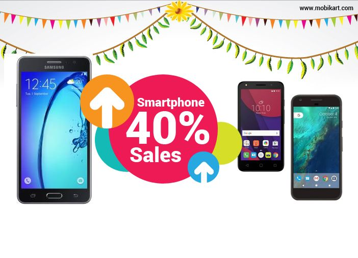 Smartphone Sales Up By 40 Percent on Festival Offers