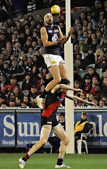 White men can jump... or at least in Australia they can! AFL - Aussie Rules Football
