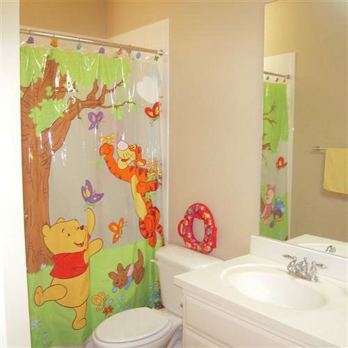 Winnie the pooh theme bathroom for kids