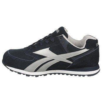 Reebok Work Men's Leelap Steel Toe Sneakers (Navy Blue) - 11.0 M