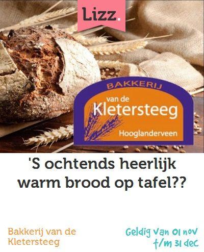 'S ochtends heerlijk warm brood op tafel?? #Kletersteeg #Amersfoort #Bakkerij #Brood en Banket