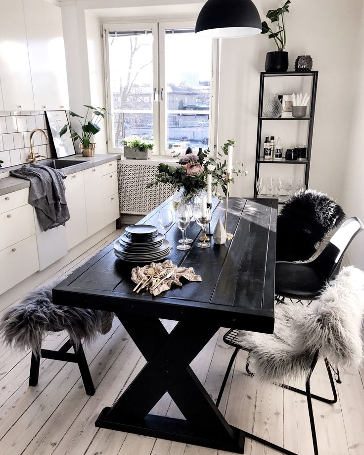 Kitchen Table Picnic Style: 25+ Best Ideas About Monochrome Interior On Pinterest