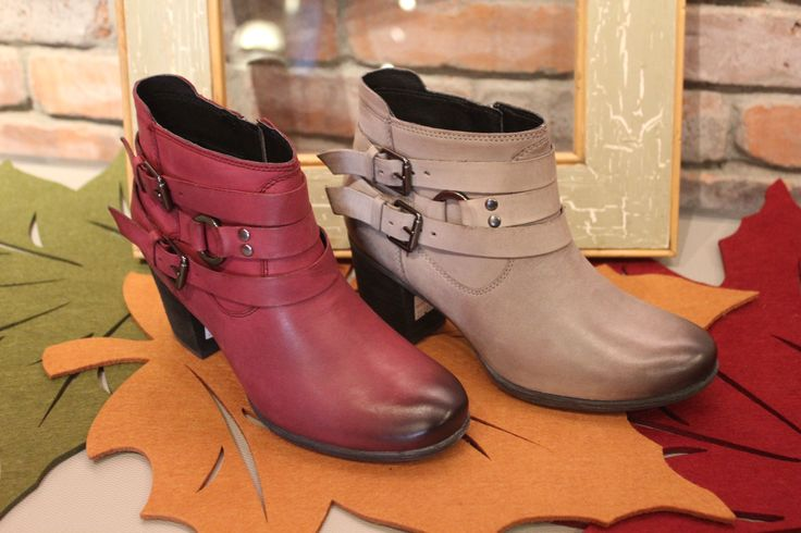 Fall Josef Seibel ankle boots! Great heel height.