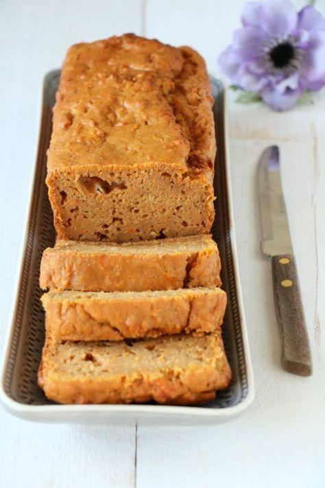 Zoete aardappelbrood met yoghurt 35+55min oven