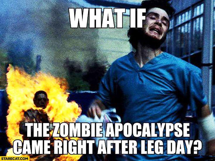 25 Hilarious After Leg Day Meme   SayingImages.com
