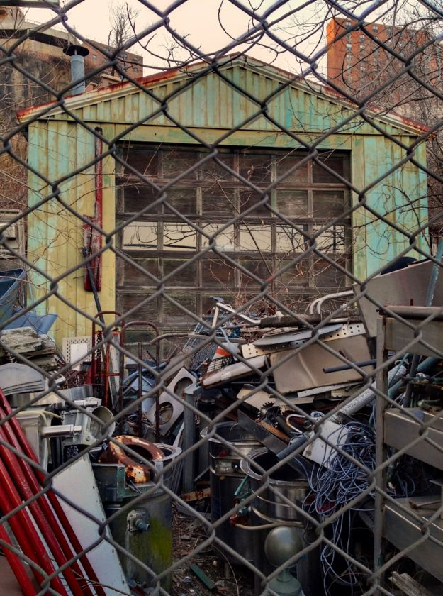 junk.  yard.  photo by brad scoggins.