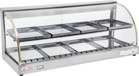 """FWD2-43 43"""" Food Warmer Display Case with Double Shelf"""
