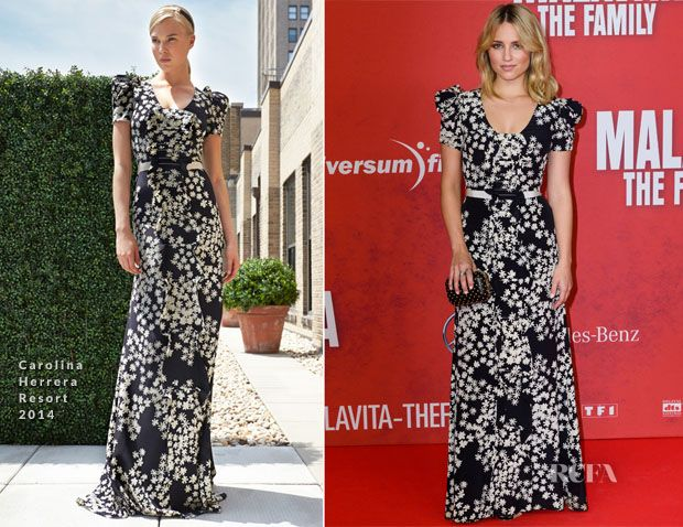 Dianna Agron In Carolina Herrera – 'Malavita – The Family' Berlin Premiere - Red Carpet Fashion Awards