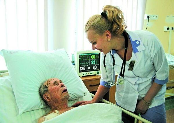 103-річне серце б'ється як молоде!. Попри поважний вік, сам пацієнт, рідні і лікарі наважилися на операцію на серці #WZ #Львів #Lviv #Новини #Життя  #здоровя